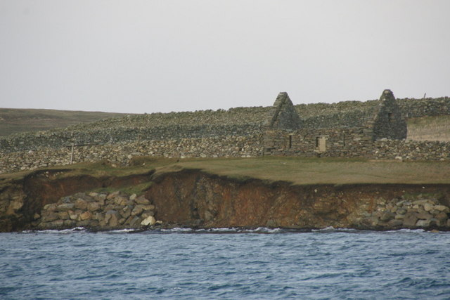 Ruined crofthouse at Belmont