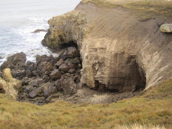 Sea Erosion near Frenchman's Bay