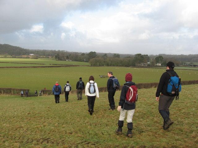 Towards Llansannor