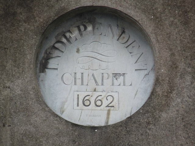 A plaque on one of the Christ Church buildings as seen from East Street
