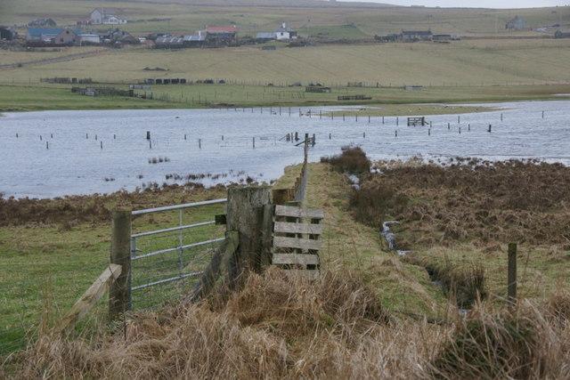 Floods, Norwick mires