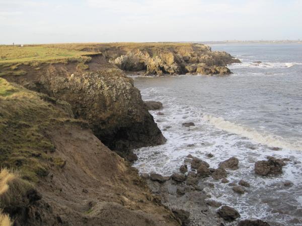 Cliffs near Man Haven