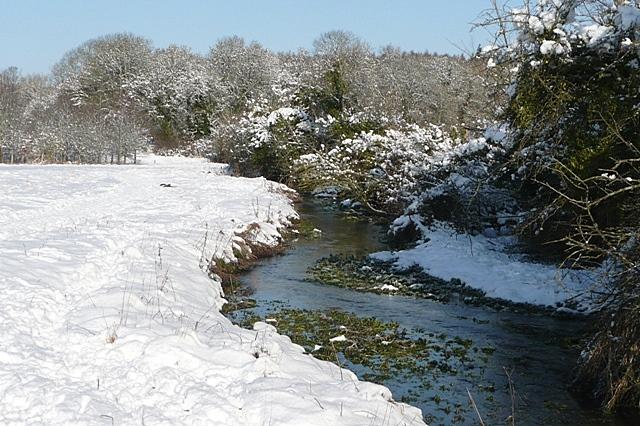 Footpath towards Morgaston Wood