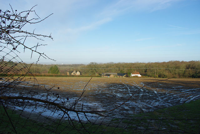 View towards Tulleys Farm