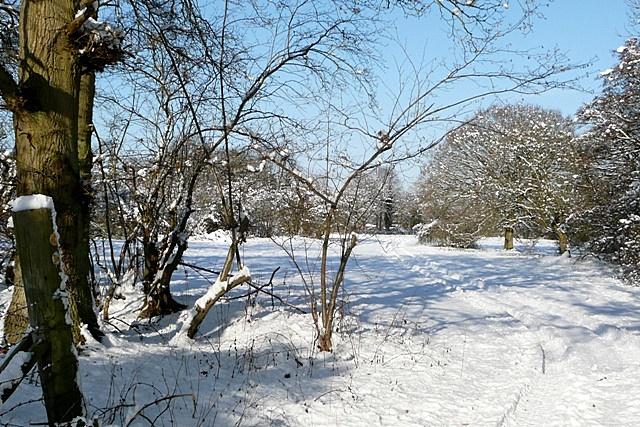 Towards Hill End Farm