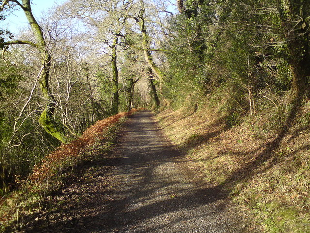 Footpath to Colby Lodge