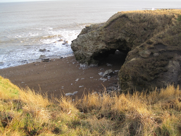 Sea Arch near Marsden Bay