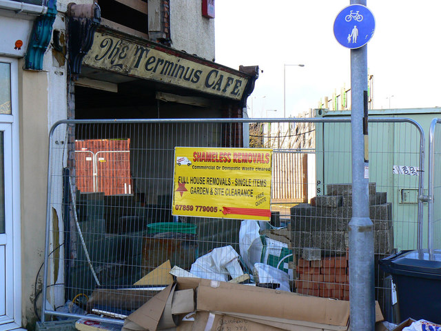 Terminus café, Roadbourne Road, Swindon