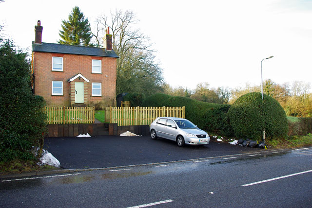 Cottage, bottom of Turners Hill