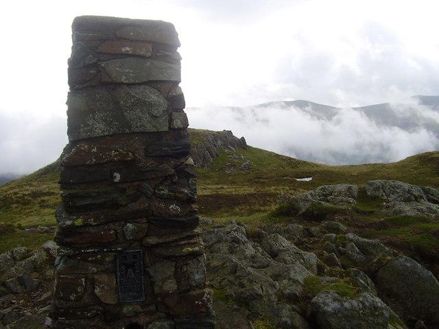 Trig pillar on High Seat