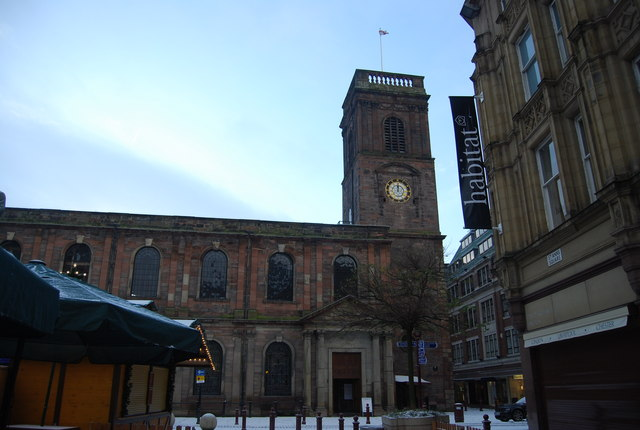 St Ann's Church, St Ann's Square