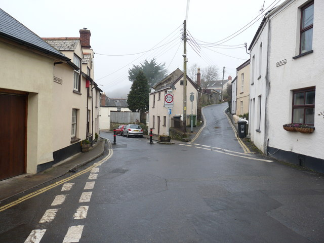 Looking towards Church Street and North Down road from Abbotts Hill