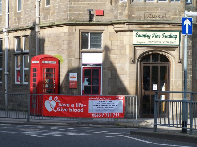 Bakewell Blood Donor Day, Bakewell