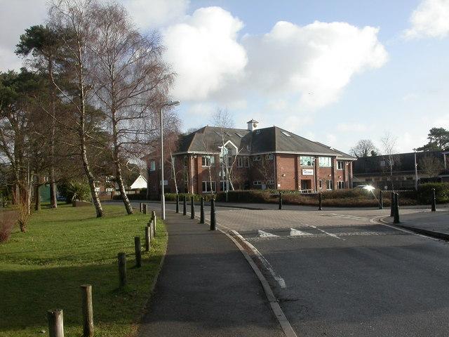 Ferndown, housing association offices