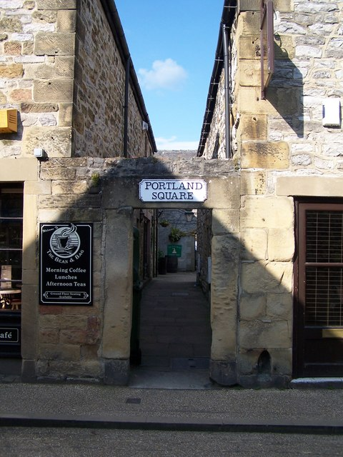 This way to Portland Square, Bakewell