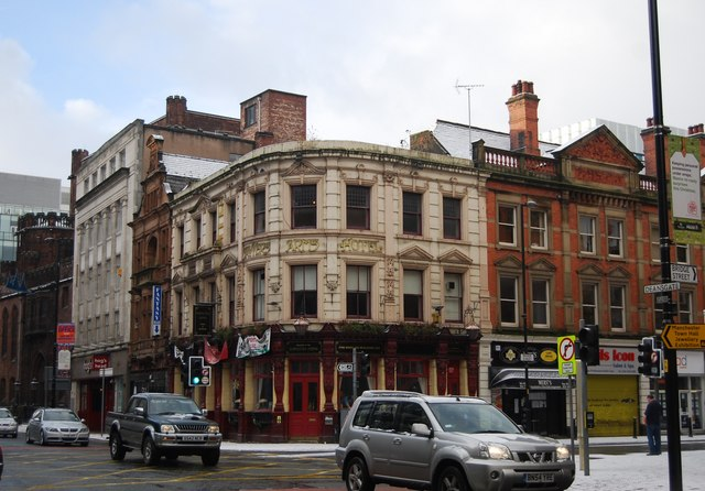 The Sawyers Arms, corner of Bridge St & Deansgate