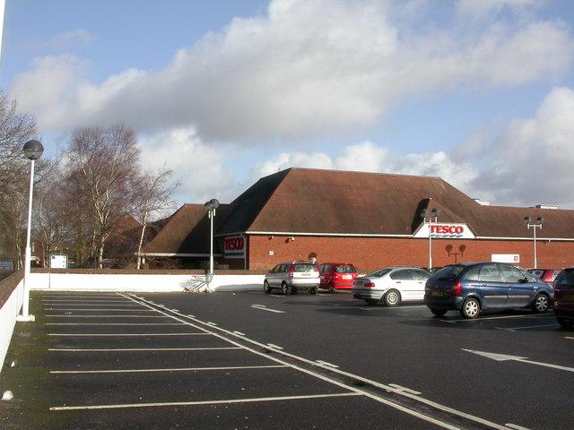 Ferndown, supermarket