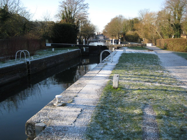 Kennet and Avon Canal: Newbury Lock No. 85