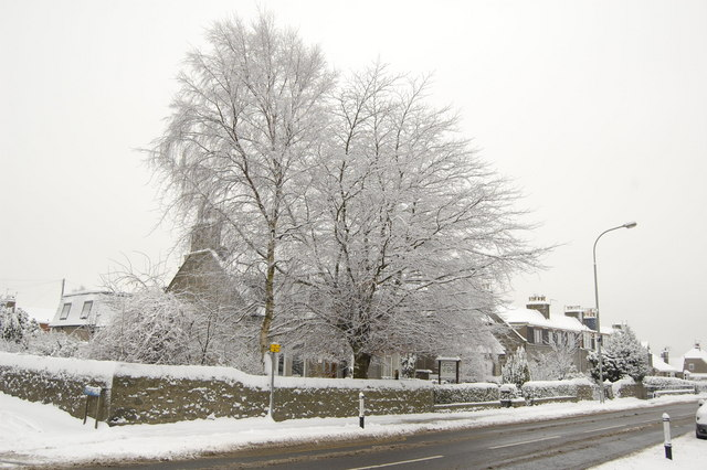 Victoria Street snow scene