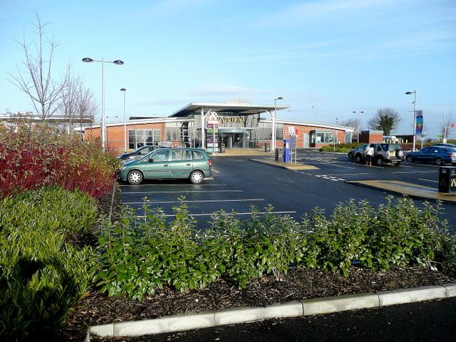 Wanlip Service Area