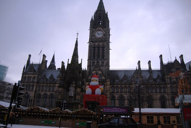 Manchester Town Hall, Albert Square