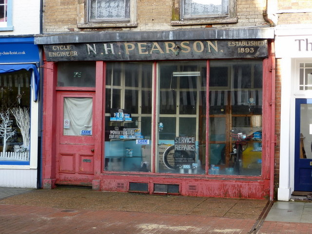 Pearson's cycle shop