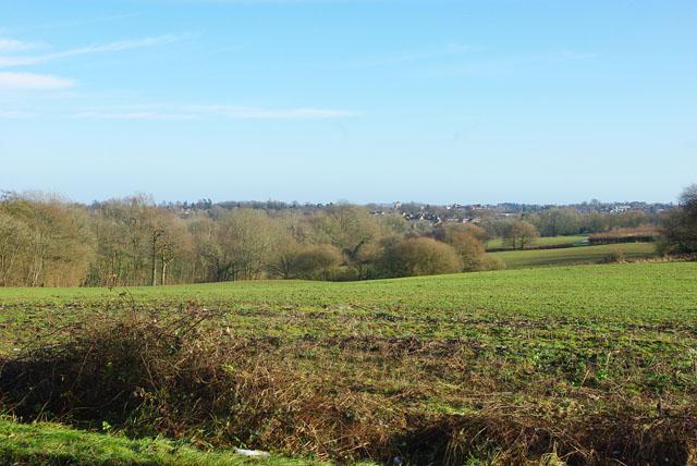 View towards East Grinstead