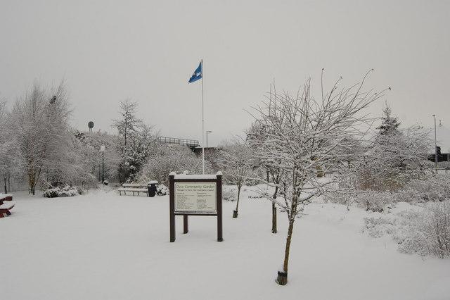 Dyce Community Garden (Looking North)