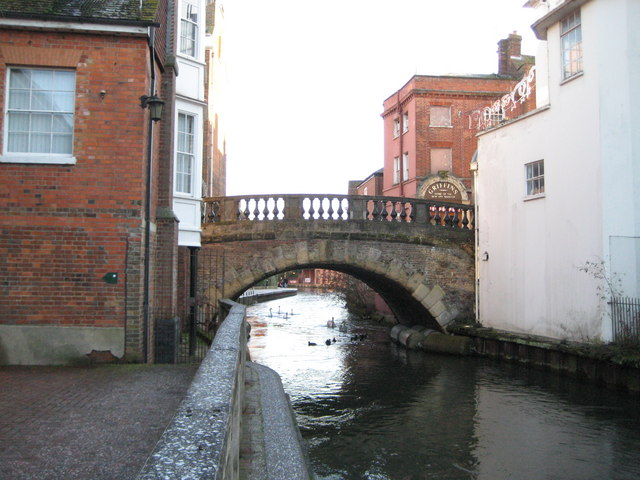 Kennet and Avon Canal: The Water Bridge, Newbury