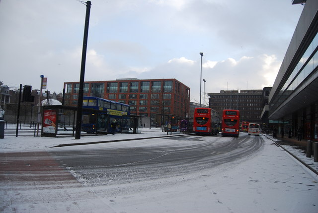 Bus Station, Piccadilly Gardens
