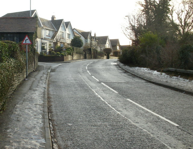 The Highway approaching Ruth Road, New Inn