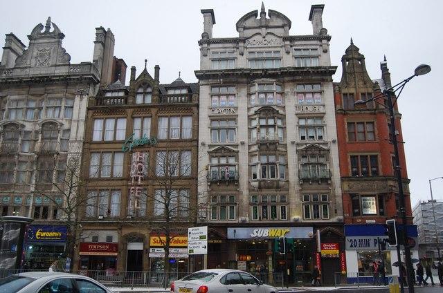 Clayton House & Clayton Hotel, Piccadilly