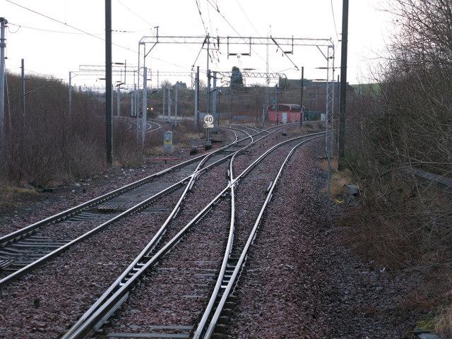 Railway Junction near Newton Station