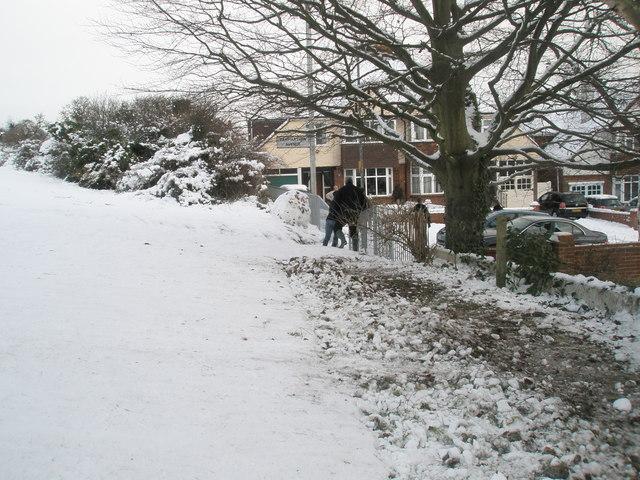 Path from Portsdown Hill to Carmarthen Avenue