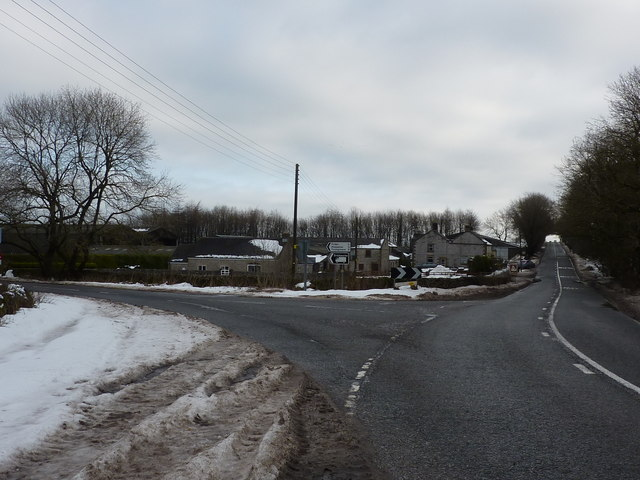 A5012 and road to Friden,Middleton and Youlgreave