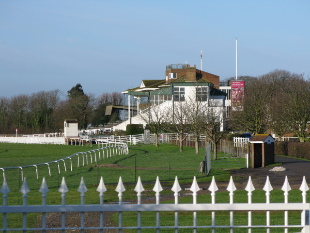 The stand at Folkestone race course