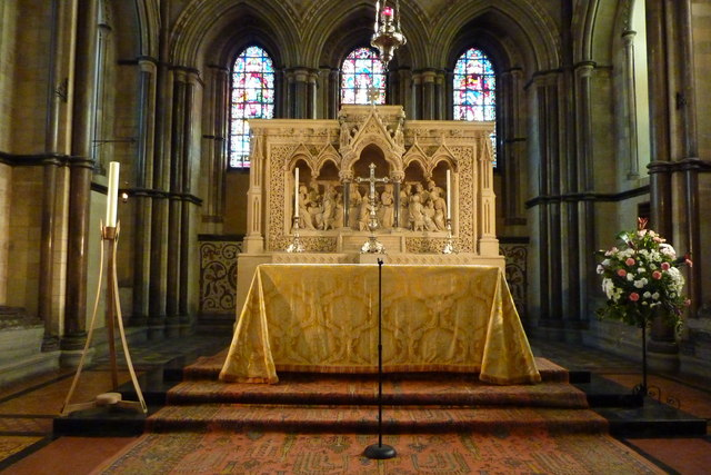 The sanctuary, Rochester Cathedral