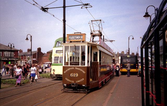 Trams at Fleetwood, Ash Street