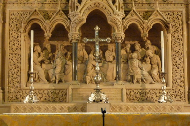 The reredos, Rochester Cathedral