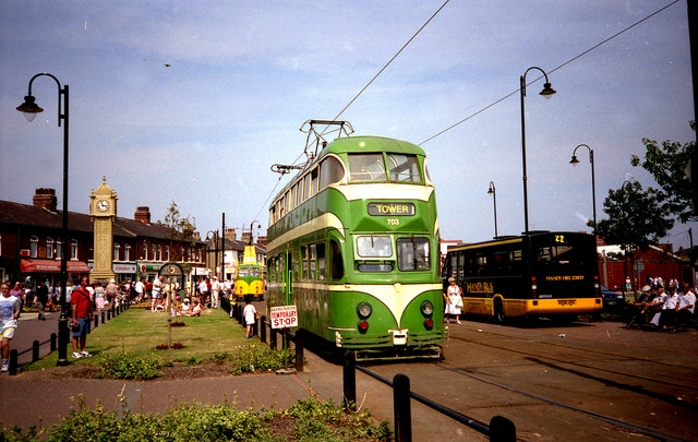 Trams at Fleetwood, Ash Street