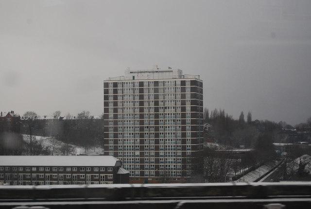 Tower Block, Bengal St, Stockport