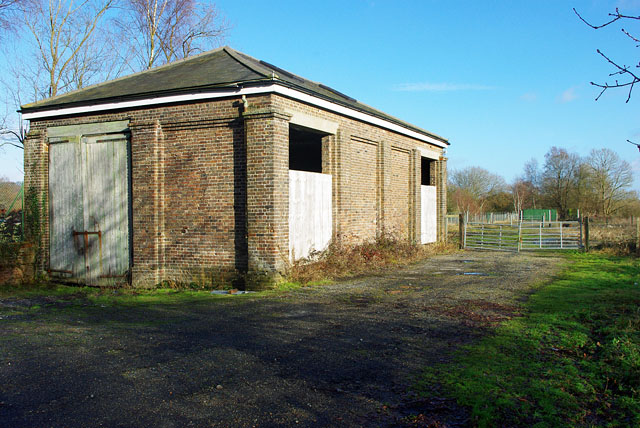 Old goods shed, Hartfield station