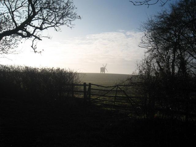 Chesterton Windmill in Winter
