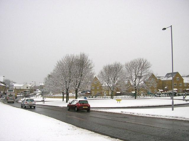 Barkerend Road Roundabout, Bradford