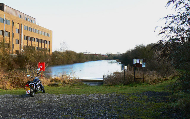 Pond, Cheney Manor Trading Estate, Swindon (2)