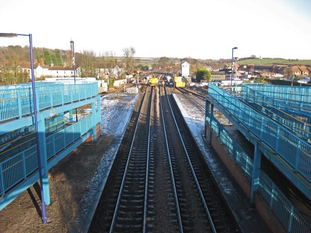 The Railway towards Immingham