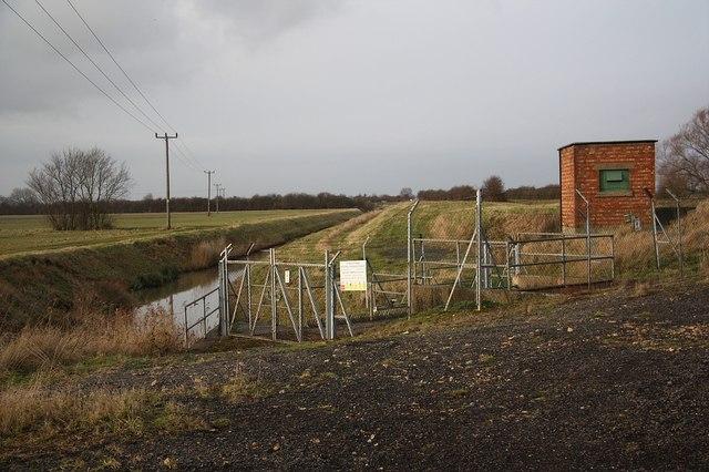 Broxholme Lane pump house
