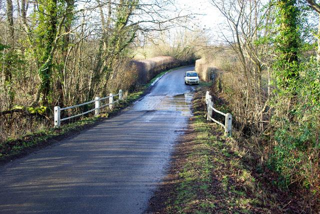 Bridge on lane from Blackham to Ashurst