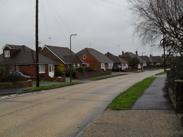 Chalet bungalows in Windmill Drive