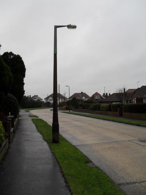 Lamppost in Windmill Drive